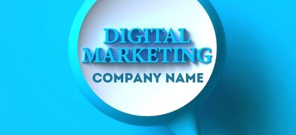 Digital Marketing Company Name Ideas